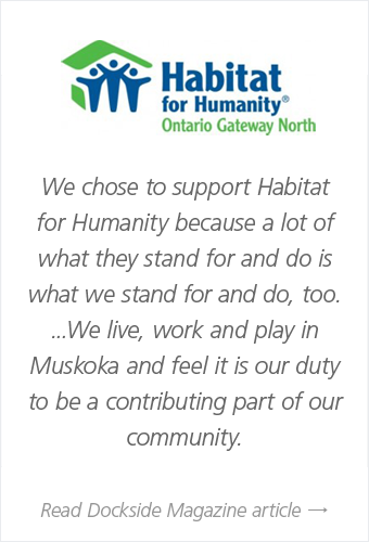 Habitat for humanity article by dockside magazine