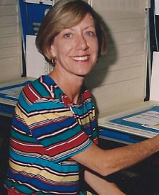 Martha running for the Florida state legislature in 1996, a year before she was diagnosed