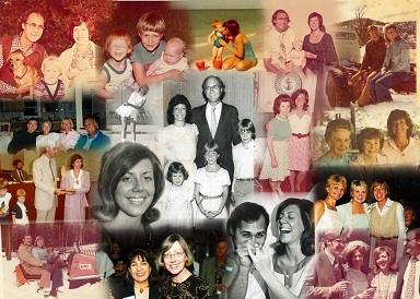 A family collage
