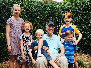 Me and my Gang of Five: Libby (12), Olivia Grace (7), Bennett (6), Victor (4), Nelson (10)