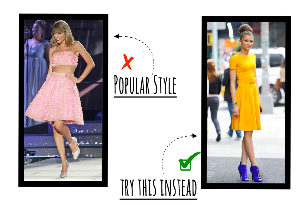 Skip the crop top dress and go for a spring dress that cuts in at the waist to give a similar feel without losing style points!