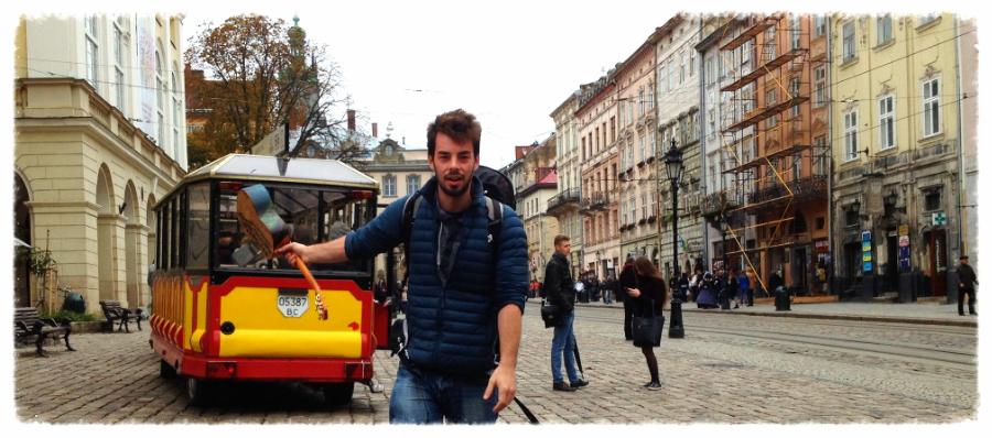 in Lviv, Ukraine