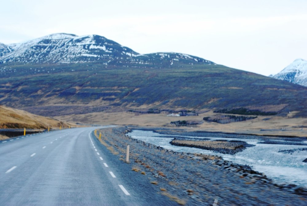 Route 1, on the way to Reykjahlíð...