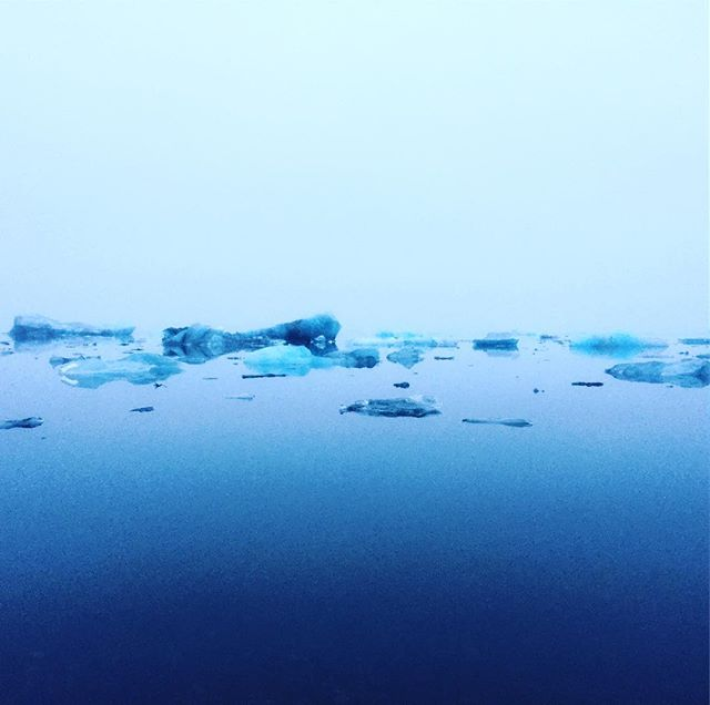 Blue Ice, being blue. #travelblogger #travelphotography #landscape #ukulele #roadtrip