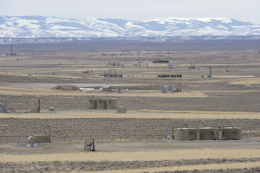 The Jonah Field is a famous example of the first mega gas fields of the modern boom. At Jonah, the number of wells skyrocketed from around 50 in 1997 to 1,500 in just 10 years.