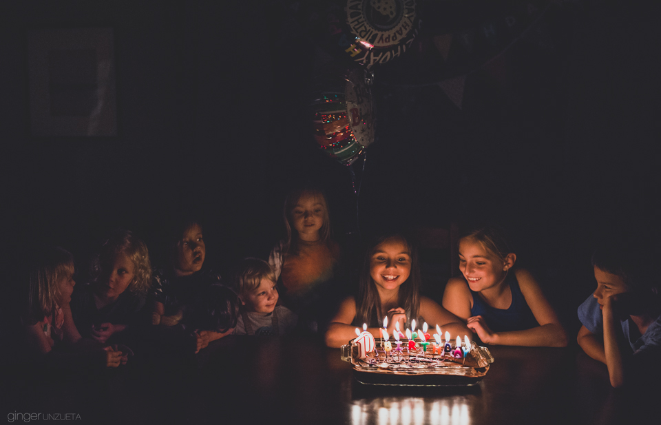ginger unzueta ten wishes for birthday girl