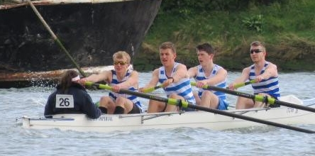 Men's Junior Four Winners (Rich Jones, Jonjo Bignell, James Cracknell, Oliver Starkey, Cox - Amey Adams)