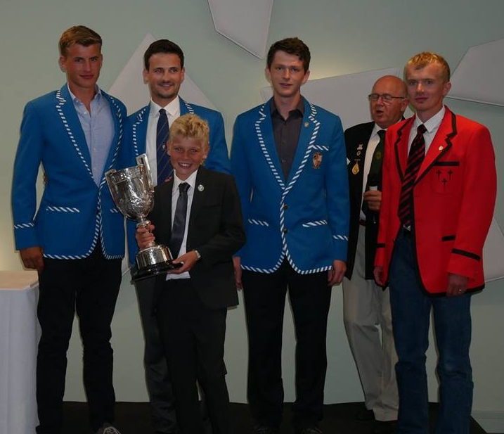 Men's Junior Four South Coast Champions