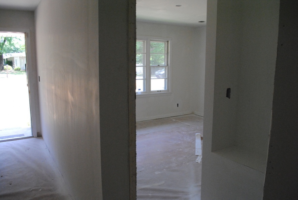 View from master bedroom entry