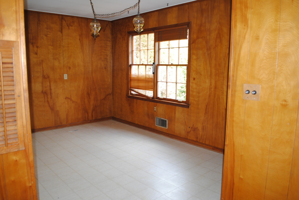 """Before"" of Eat-In Kitchen Area"