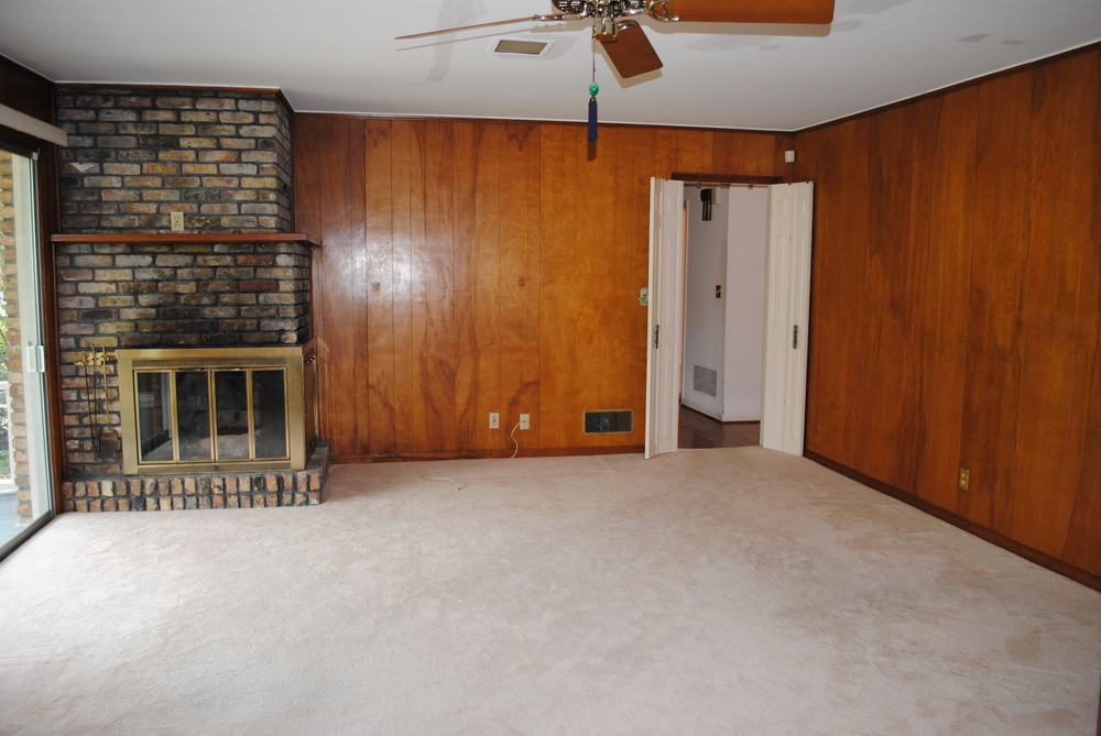 """Before"" Family Room"