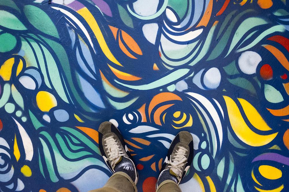 Ruskidd's psychedelic floor.