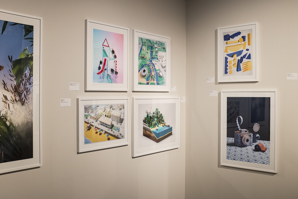 Papercraft works from artist Hattie Newman.