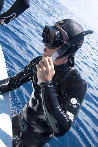 Rob Stewart Rocking Swish Wetsuit
