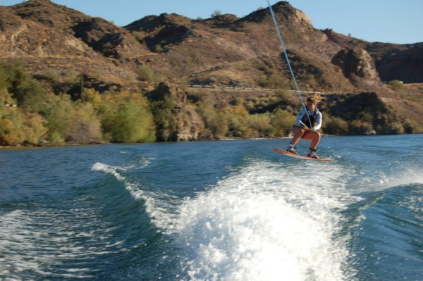 Wakeboarding in the Swish Ladies' Jacket