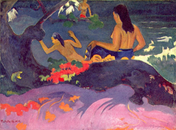 By the Sea, Paul Gauguin