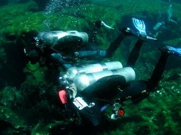 Cave Diving in Playa Del Carmen
