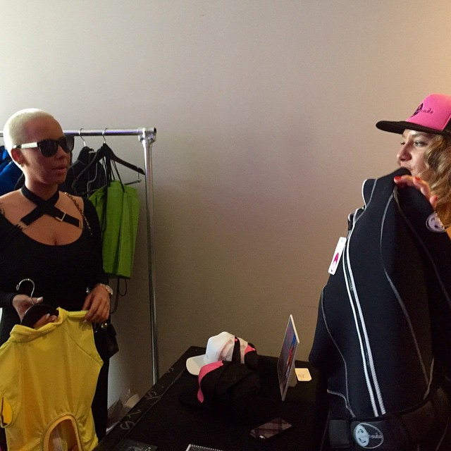 Swish CEO Chelsea Shows Amber Rose Some Swish Gear