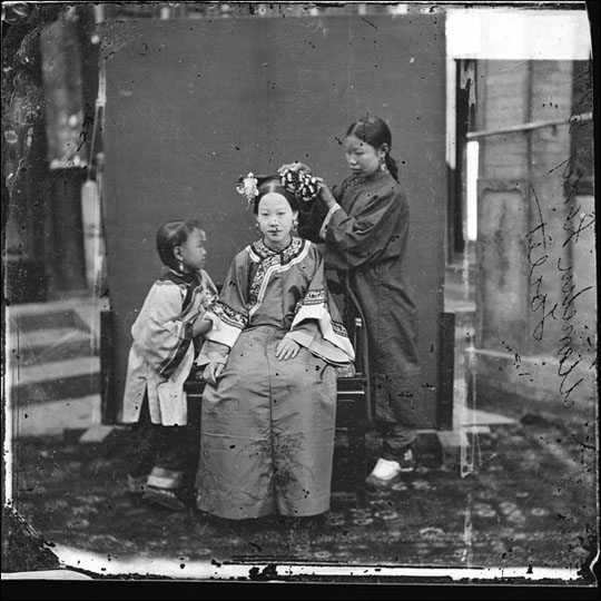 Manchu Bride, by John Thomson.