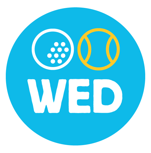 WEDNDESDAY - 3:20-4:15p - 3's Golf & Tennis Clinic