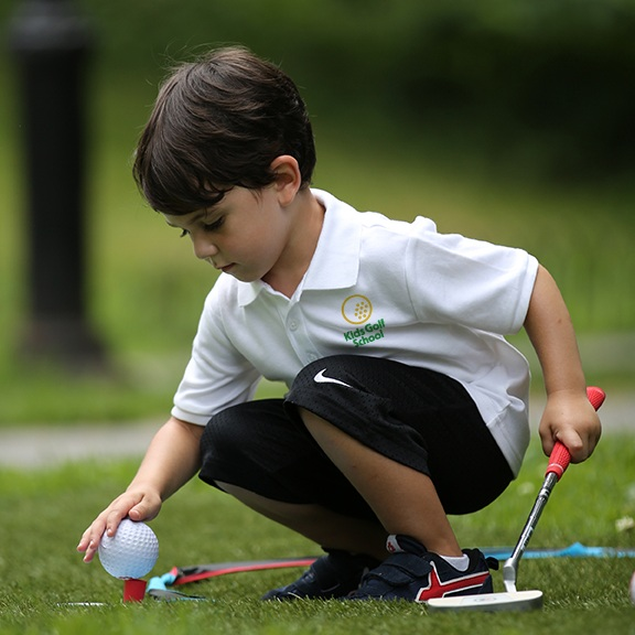 Golf - We introduce fundamentals like how to hold and aim a club, proper stance and perfect posture.