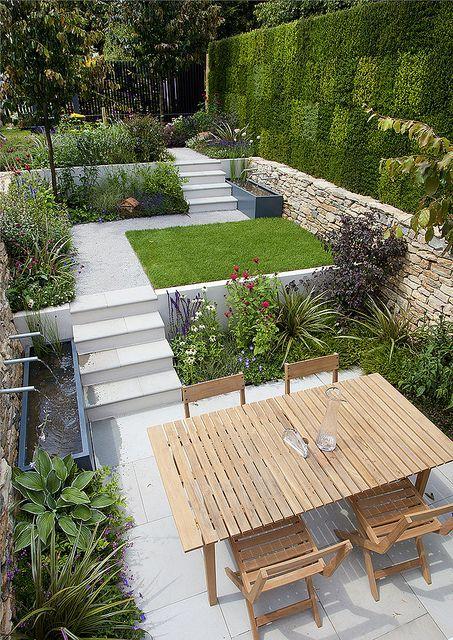 Multi-level town garden