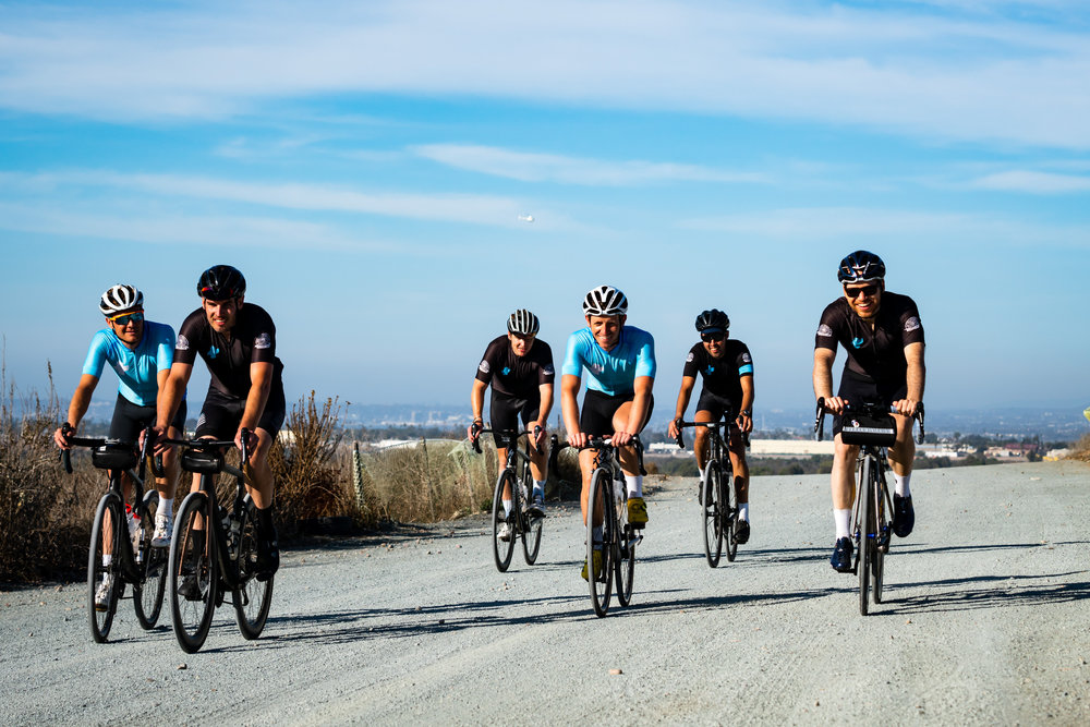 Cycling is more headspace than strength as well as endurance. Cycling isn't about one rider but the group. Cycling is about emotion. Cycling is about new roads, new friends and in many ways, a new family. - Dave Ambrose