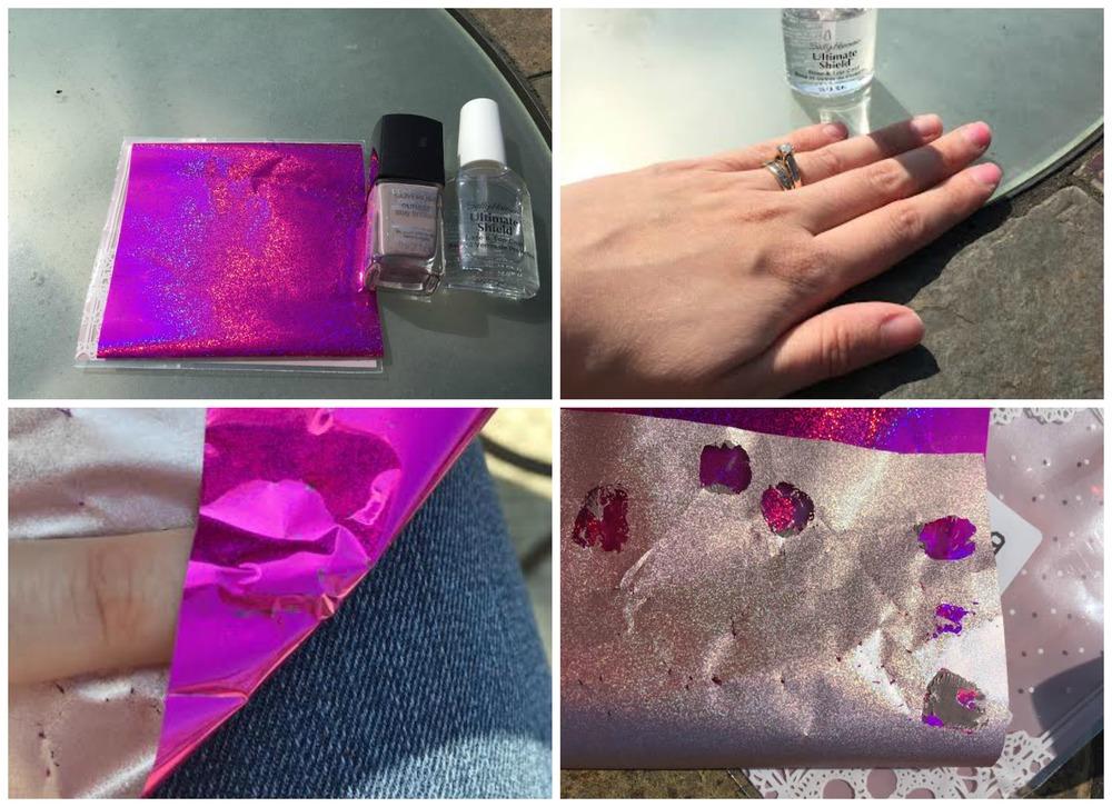 Fantasy Starry Holo Nail Foils Glitter Transfer Stickers
