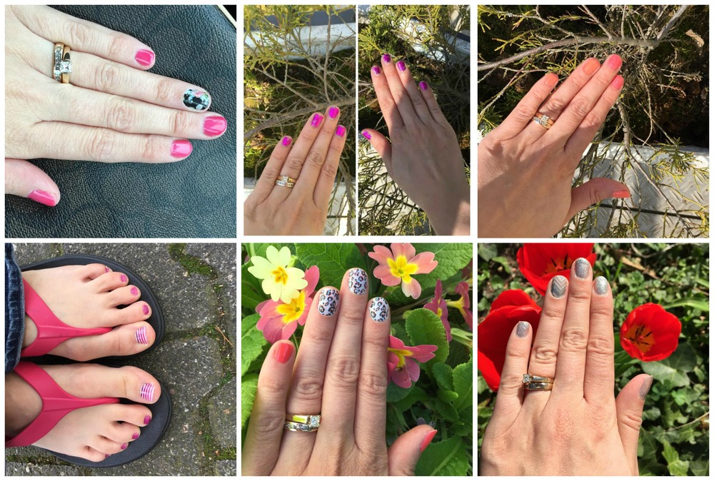 Monthly Nails: April Nails and Toes