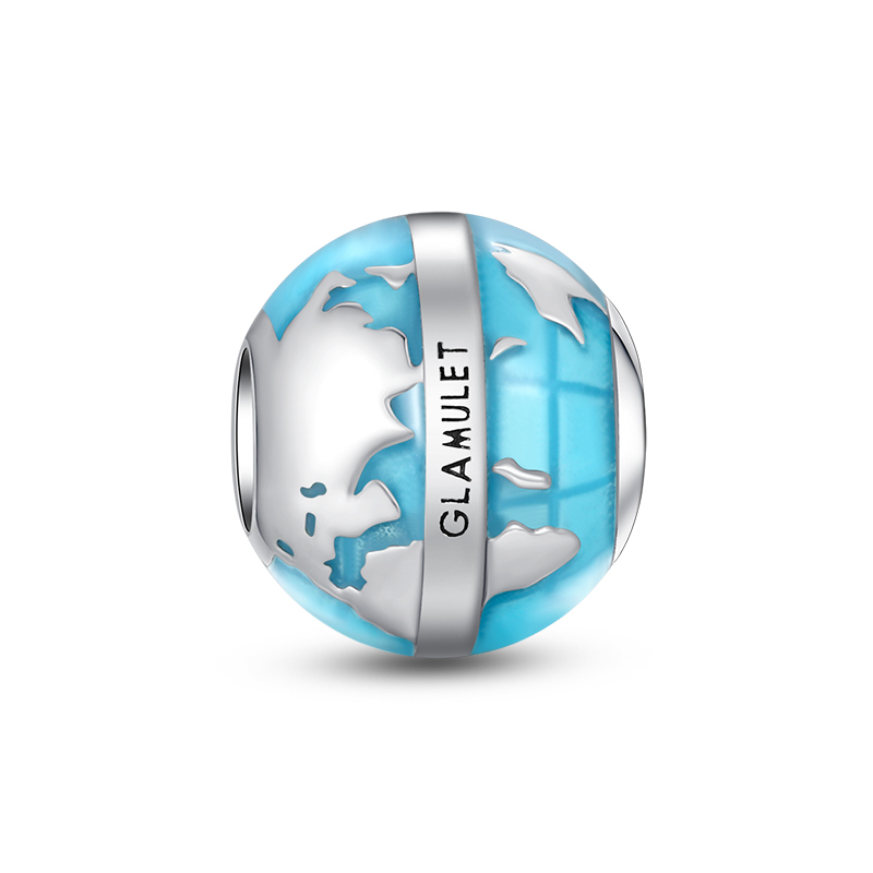 GLOBE TRAVEL CHARMS