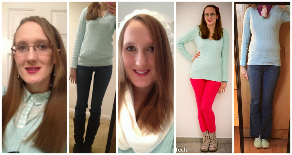 Monthly Remix Recap: Mint Green Sweater