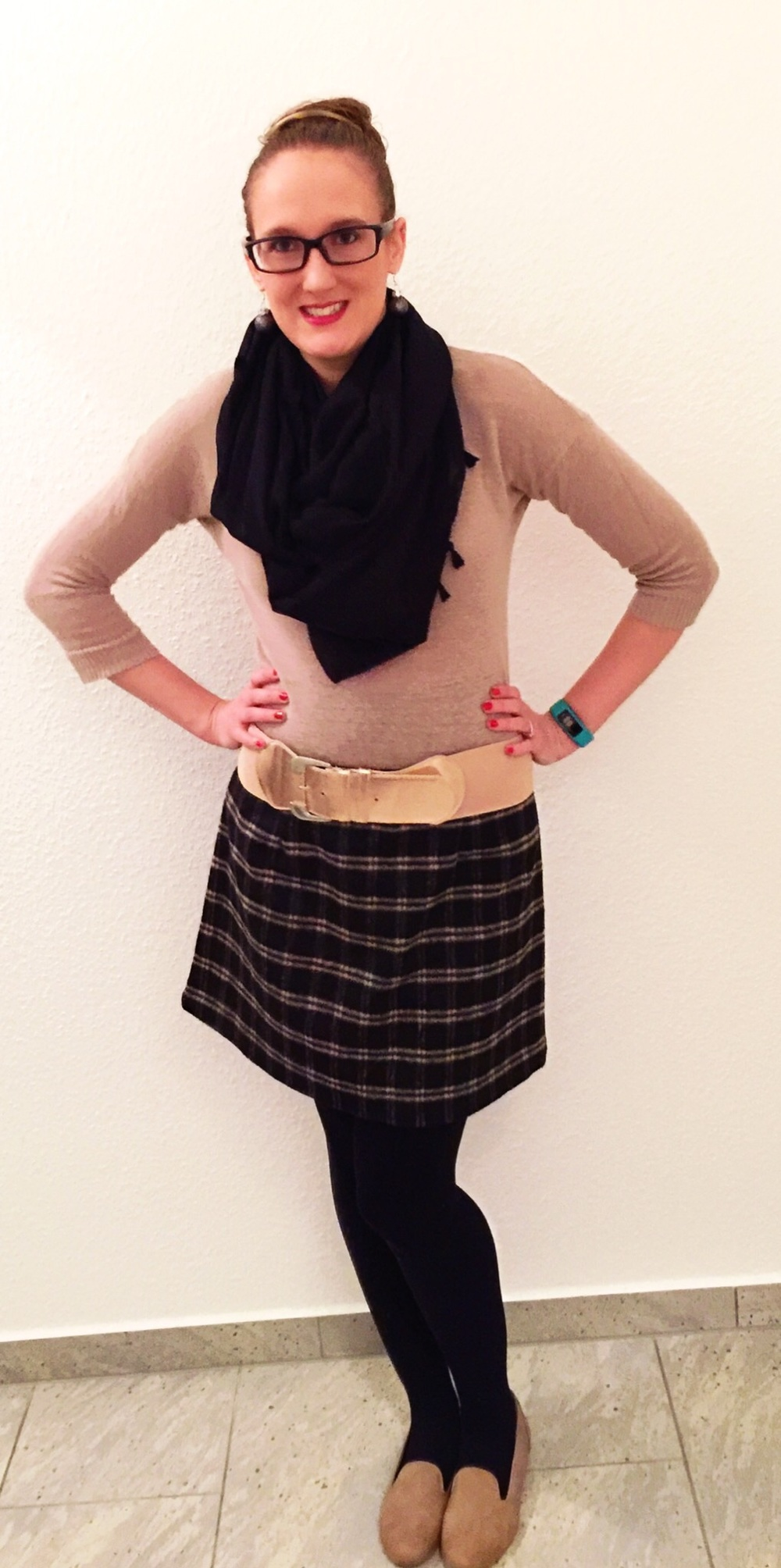 WIWW: Plaid Skirt