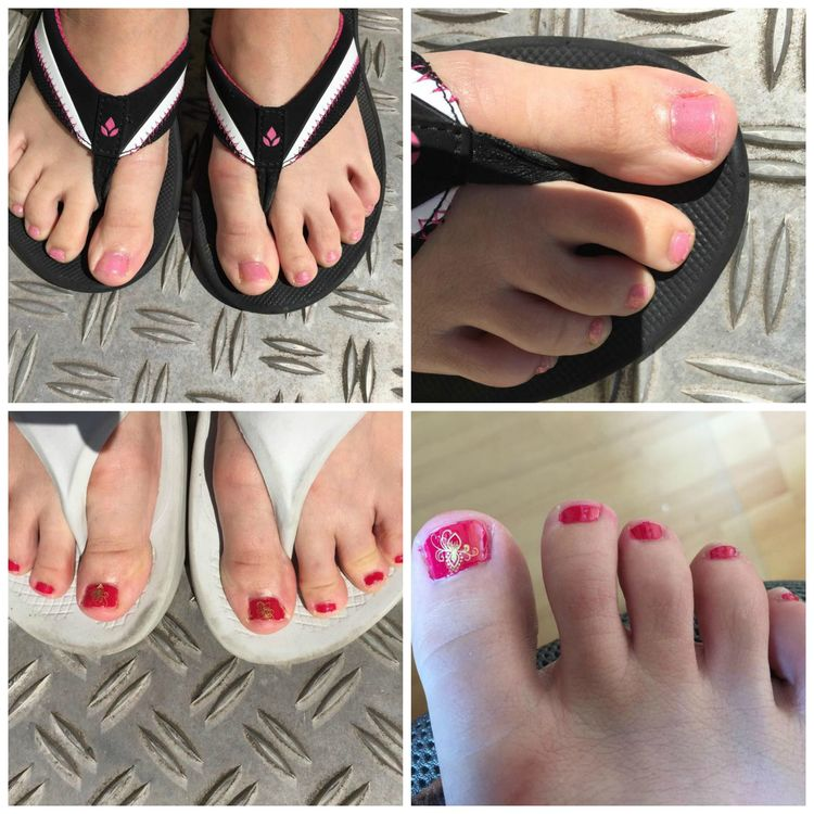 July Toenails 2015