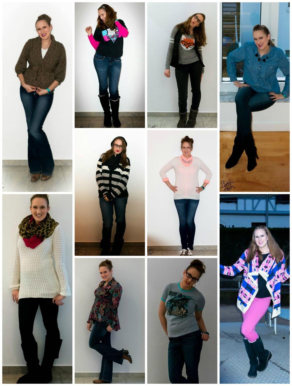 2015 Outfit Recap