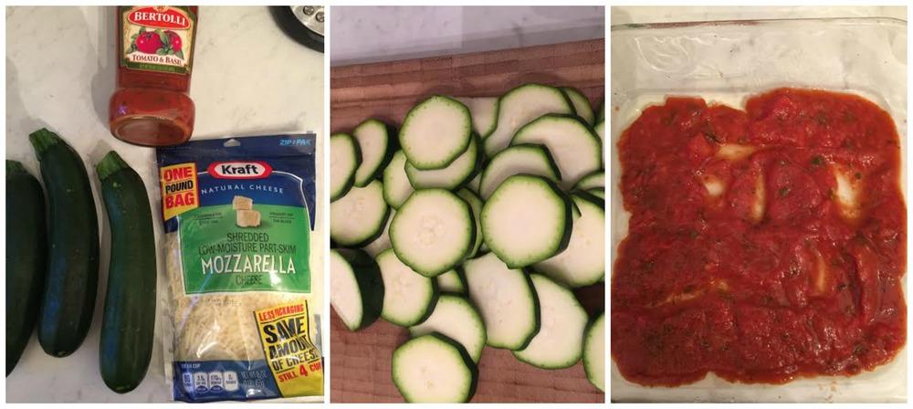 Monthly Recipe: Chessy Zucchini Bake