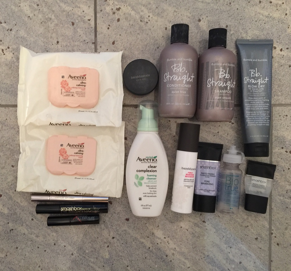 January and February Empties Products