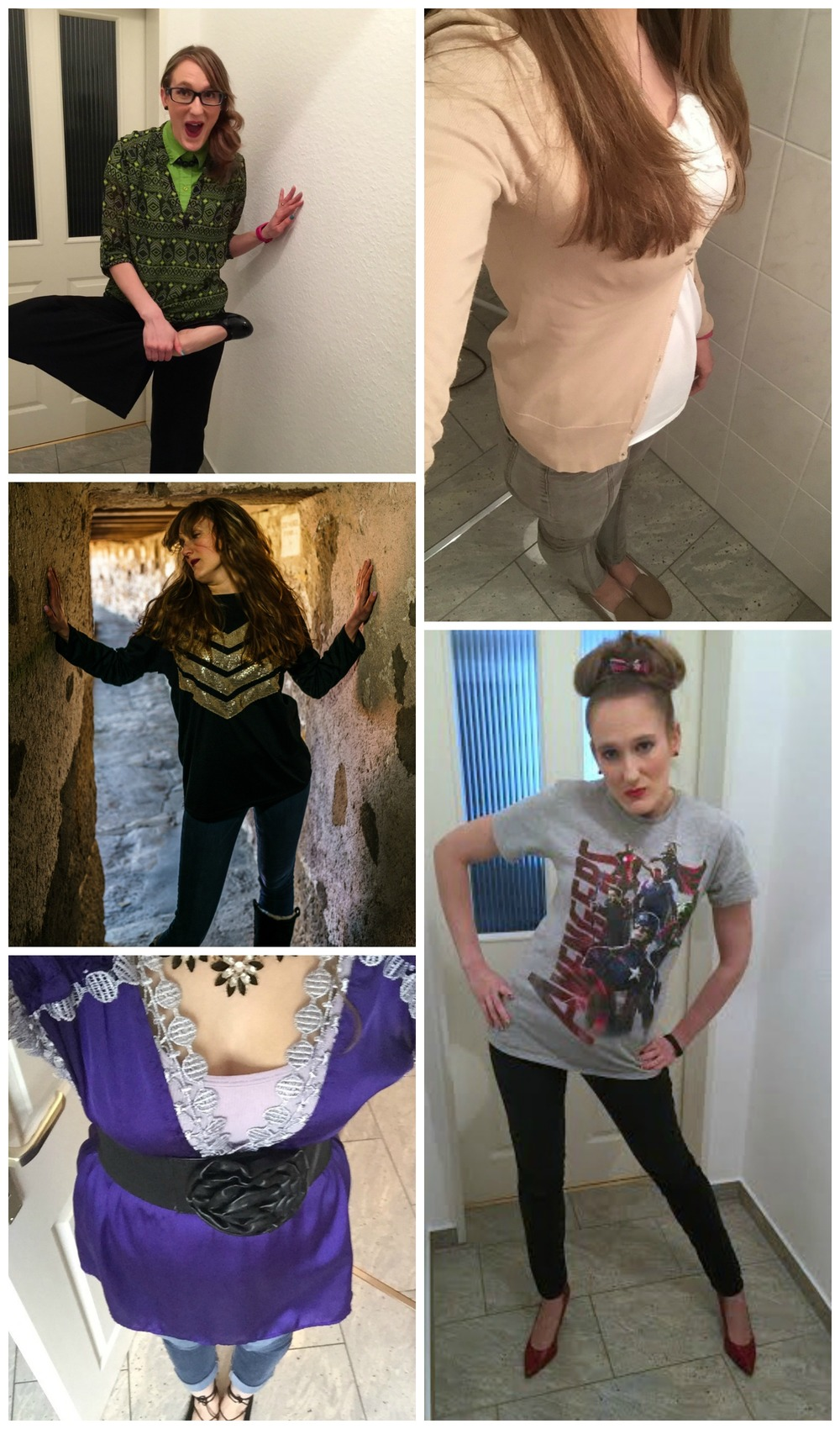 April Outfit Recap