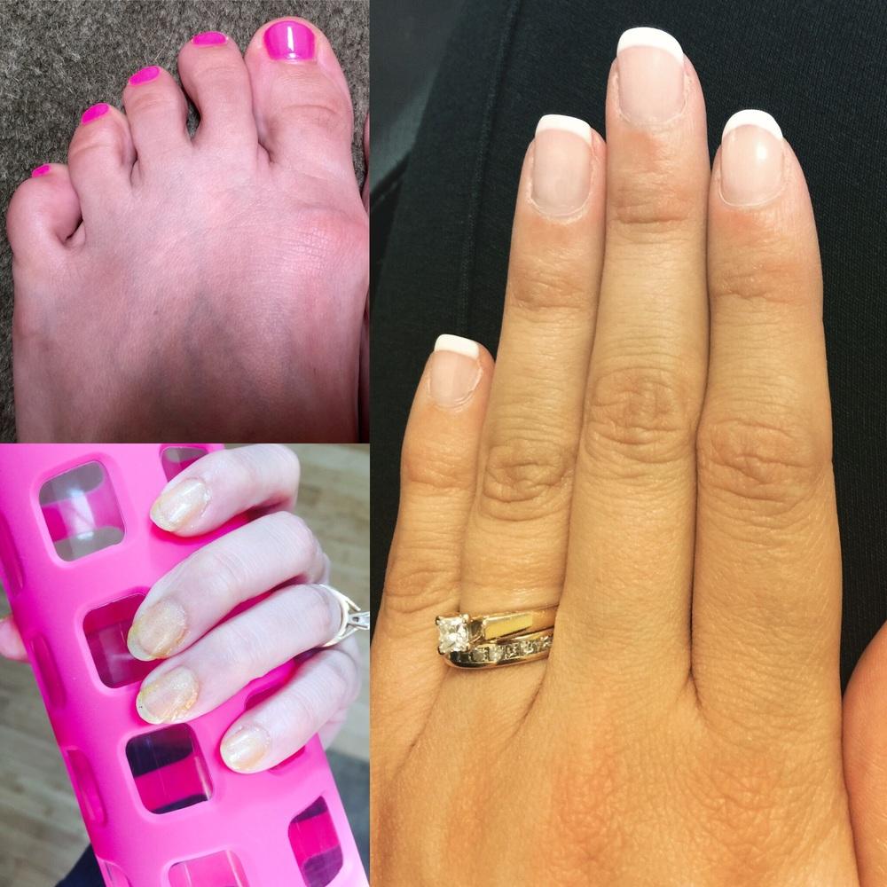 July Nails and Toenails