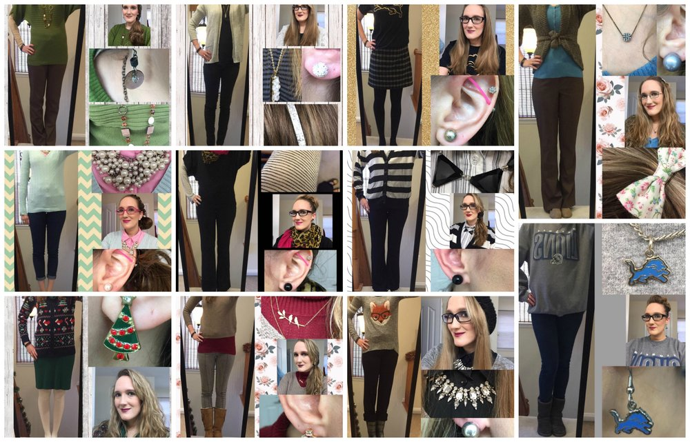 November Outfit Recap