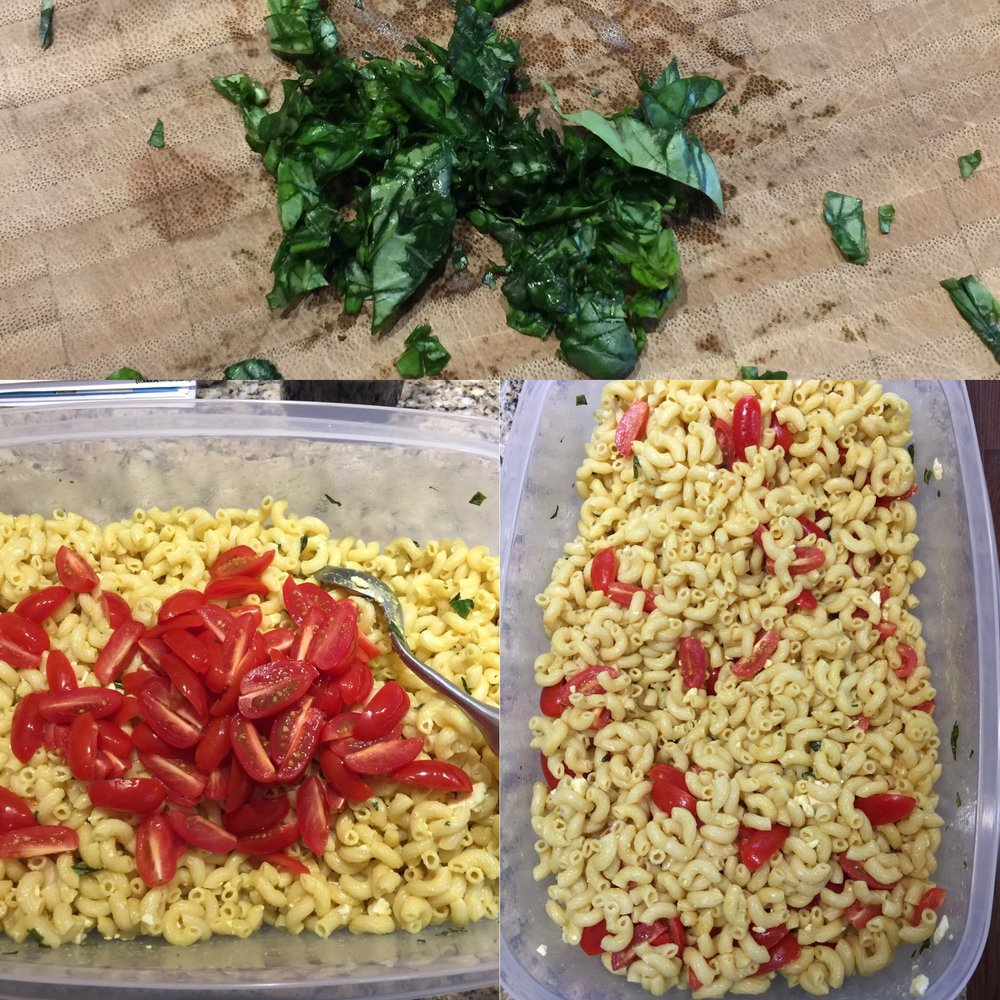 Monthly Recipe: Basil and Tomato