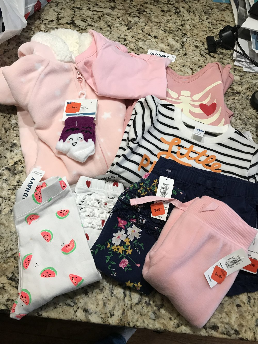 e174847f465b Baby Girl Clothing Haul — Amy's Fashion Blog