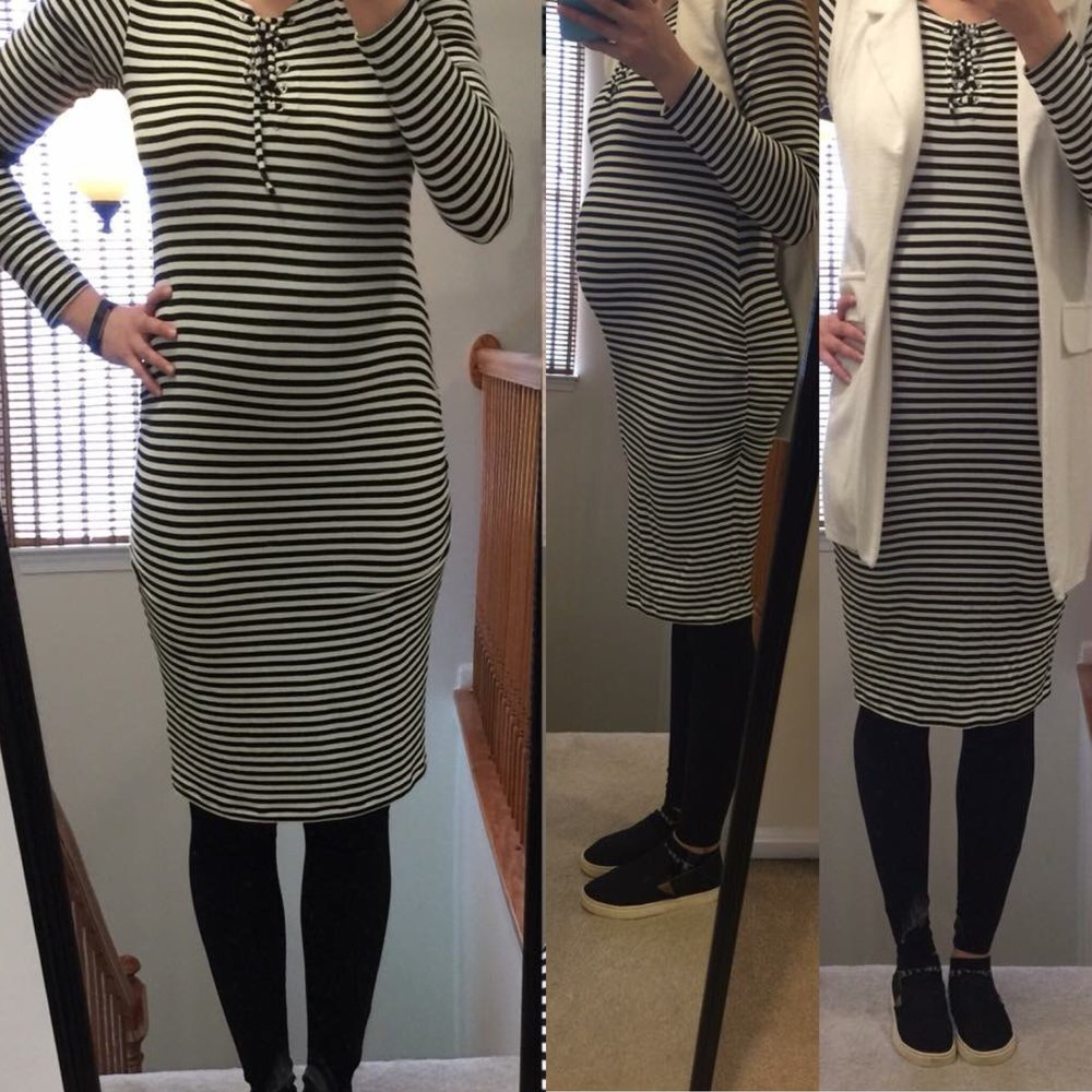 My Maternity Clothes Wardrobe