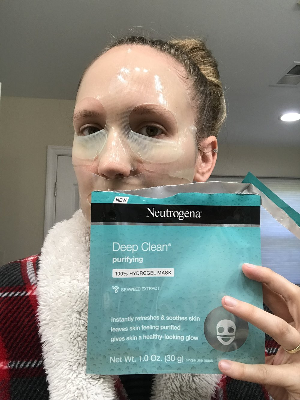 "Review: Neutrogena Mask-""It's in the Gel"""