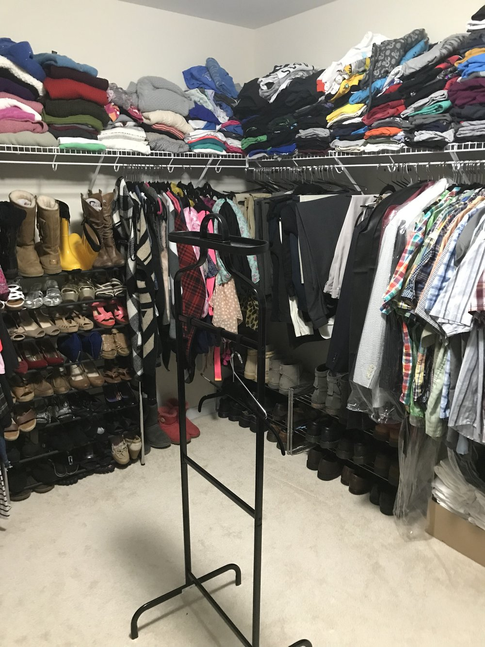 Get Ready For the Spring - Clean and Organise Your Closet By Alex