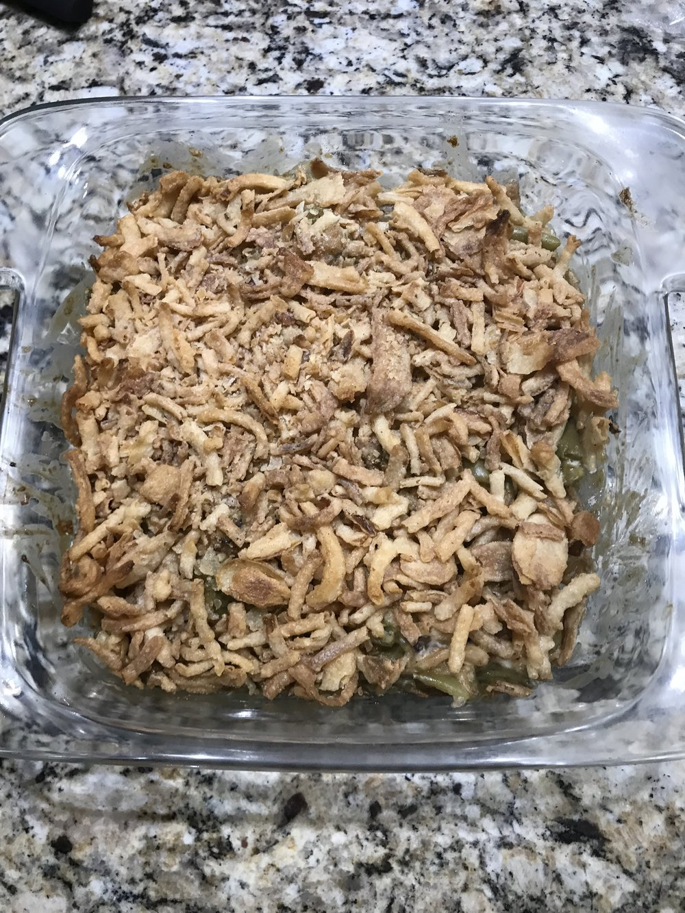Monthly Recipe: Green Bean Casserole