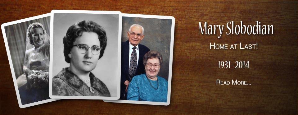 Mary Slobodian: 1931-2014