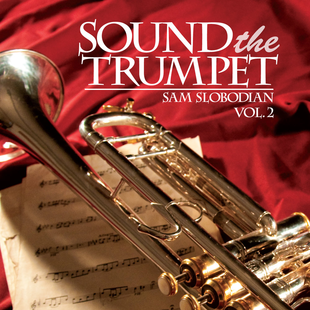 go sound the trumpet Seven trumpets are sounded  upon the first trumpet sound, hail and fire, mixed with blood, is thrown to the earth burning up a third of the trees on the planet.