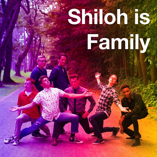 Tag someone in the comments or post using #ShilohIsFamily to show someone some love!