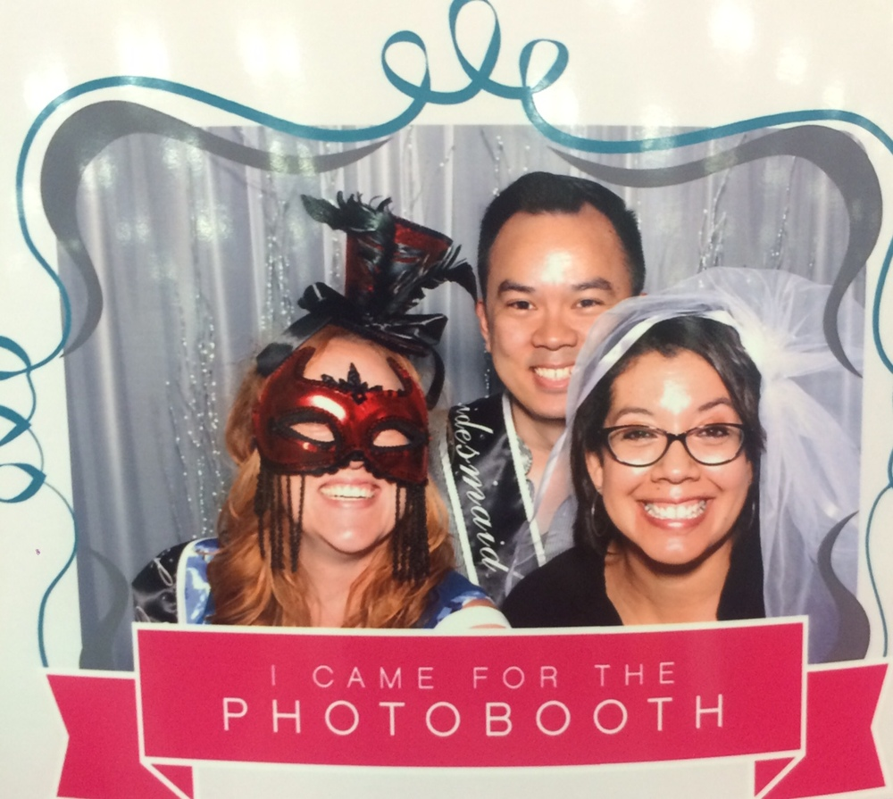 It's true, people are only attending your wedding for the photo booth. And out of the sense of obligation if you attended some important event for them. And the possibility of an open bar. Mazel Tov!