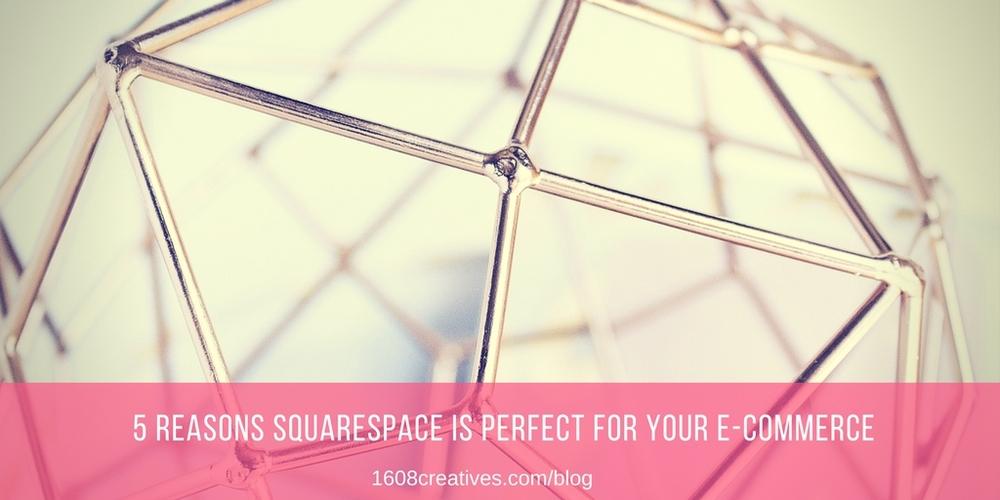Squarespace ecommerce